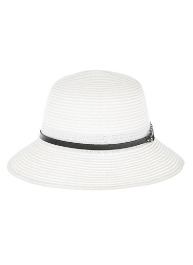 Bay Şapkacı Şapka Beyaz